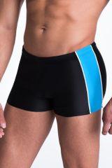 PRIMO Pánské plavky boxerky Hector černomodré L