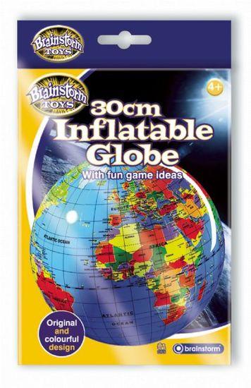 Brainstorm Toys Nafukovací globus 30cm - Zeměkoule