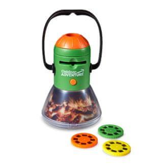 Brainstorm Toys Outdoor Adventure - Kempingová lampa s projektorem