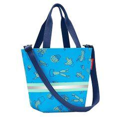 Reisenthel Nakupovalna torba , Kaktus, modre barve shopper XS otroci