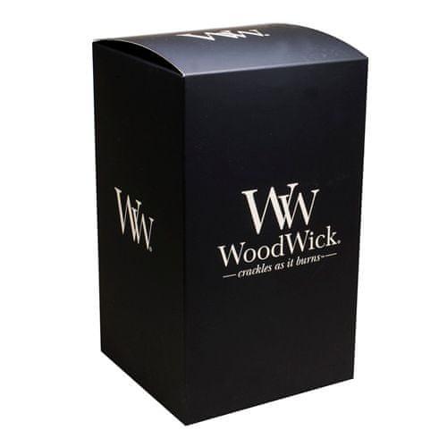 Woodwick darilna škatla, Za veliko svečo, črno