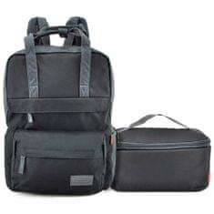 Target Ciljni nahrbtnik za učence, Črna