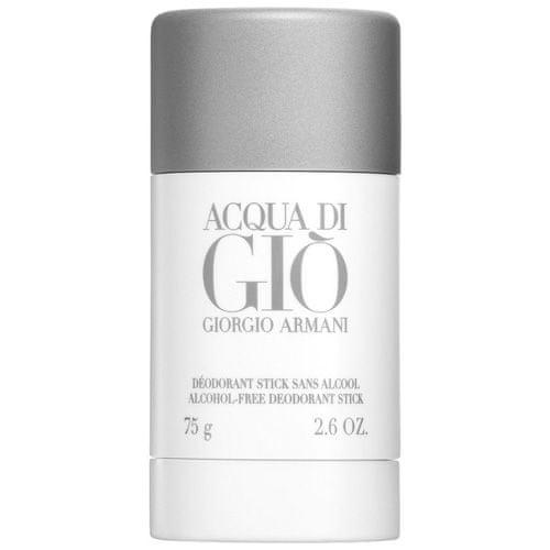 Giorgio Armani Szilárd dezodor férfiaknak. , Acqua Di Gio férfiaknak, 75 ml