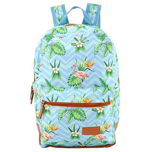 Target Cél hátizsák, Kék flamingóval