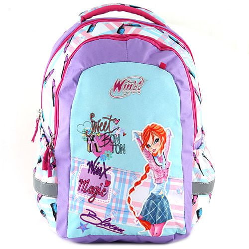 Winx Club Školní batoh Target, Winx Magic, zeleno/fialový