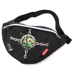 Target Ledvična vreča TMNT, črna, z motivom želve Ninja