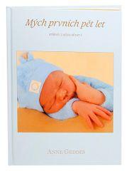 Anne Geddes Kniha Mých Prvních Pět Let, modrý kluk CZ