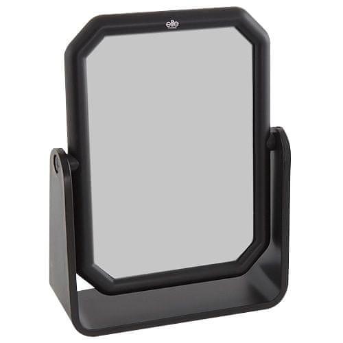 Elite Models Kosmetické zrcadlo , hranaté, 13x17cm, černé