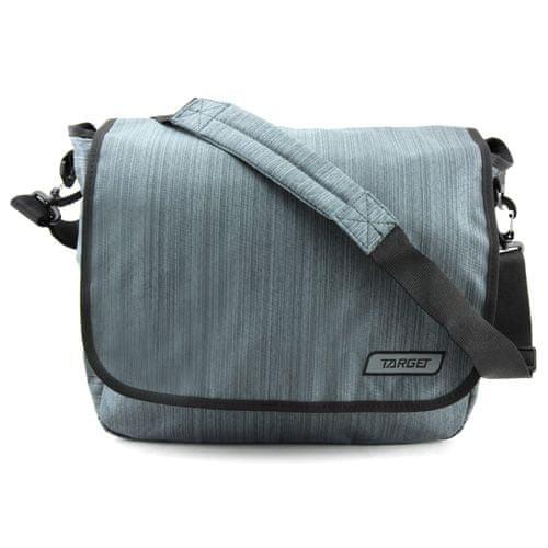 Target Ciljna torba za ramena, Melange, siva