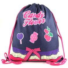 Target Ciljna športna torba, Candy Flower - izjemna športna torba, vijolične barve