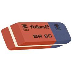 Pelikan Kombinovaná guma , BR 80, na grafitové ceruzky a atrament, červeno-modrá