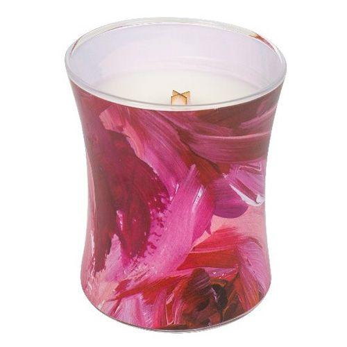 Woodwick Svíčka oválná váza WoodWick, Červený rybíz a cedr, 275 g