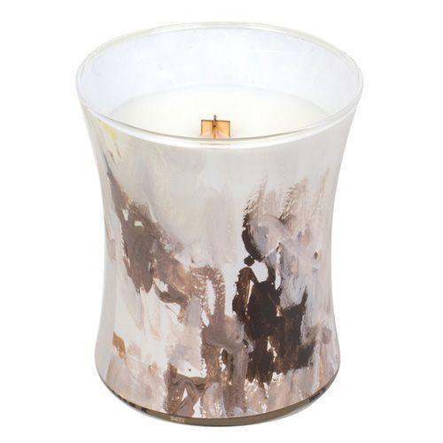 Woodwick Svíčka oválná váza WoodWick, Medový tabák, 275 g