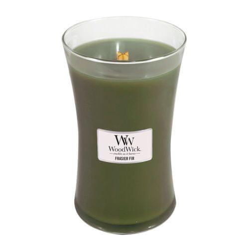 Woodwick Svíčka oválná váza WoodWick, Jedle, 609.5 g