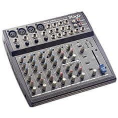 Stagg Mixážny pult , 4x mono, 4x stereo vstupné kanály