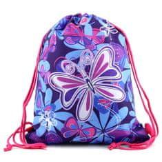 Target Ciljna športna torba, Metulji, modro-vijolični