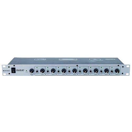 Omnitronic Mixážny pult , MLM-81, mixážny pult pre 8x mikrofón
