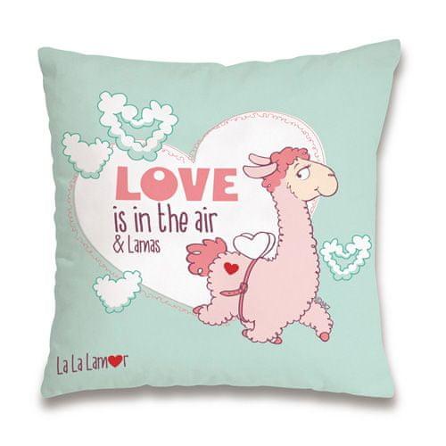 """NICI Poduszka , """"Miłość jest w powietrzu"""", 37 x 37 cm"""