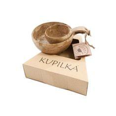 Kupilka 3055210151B Kopułka 55 + 21 ZESTAW Brązowo - brązowy zestaw miski i kubka w zestawie