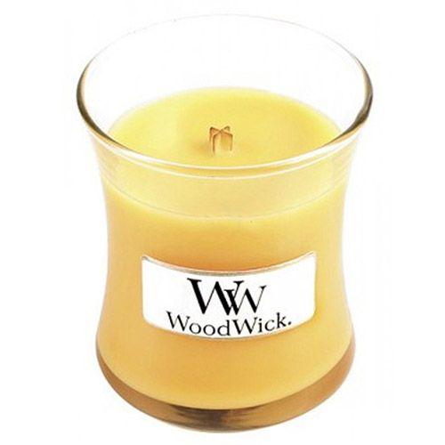 Woodwick Svíčka oválná váza WoodWick, Přímořský koktejl, 85 g