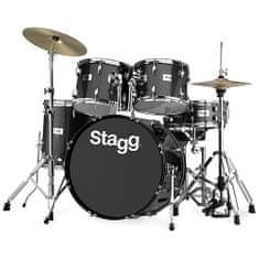 "Stagg Bicí sada , 22"", černá perleť"