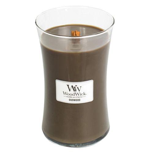 Woodwick Svíčka oválná váza WoodWick, Pryskyřice, 609.5 g