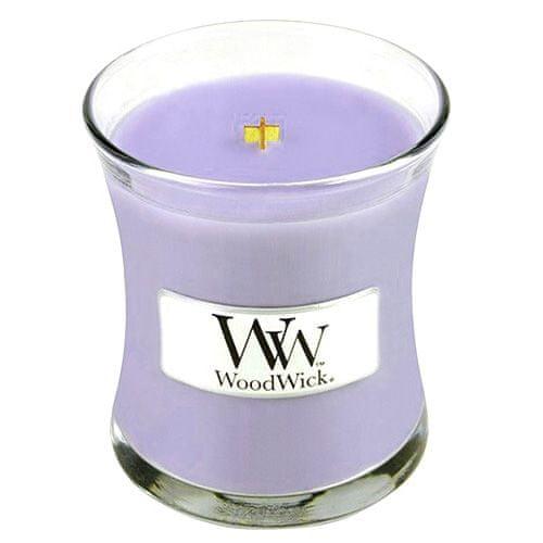 Woodwick Svíčka oválná váza WoodWick, Šeřík, 85 g