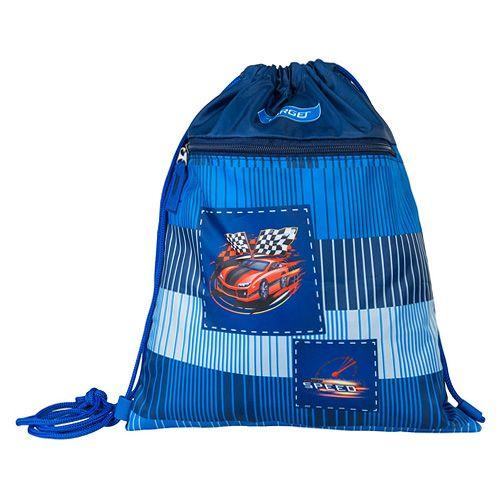 Target Docelowa torba sportowa, Czerwony samochód wyścigowy, niebieski
