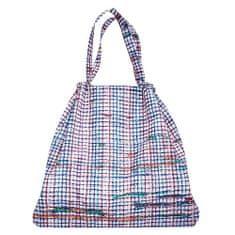 Reisenthel Składana torba , Biała w kolorowe paski mini loftbag maxi