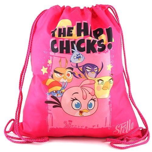 Target Ciljna športna torba, Roza / jezen motiv ptic