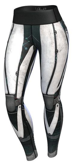 Anarchy Apparel Női sportlábbeli Leggins Robot Compression, XL méret