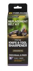 Work Sharp WSSA0002705 WSKTS Replacement Belt Kit - Qty 6 FINE - 6000 grit