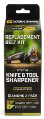 Work Sharp WSSA0002970 Diamond Belt Kit Qty 1 - 180 Grit Qty 1 - 1500 Grit