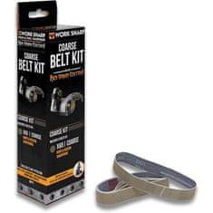 Work Sharp WSSAKO81118 Belt Kit for X65 Coarse PP0003206 (new U242 belt) Qty 5