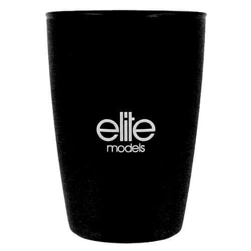 Elite Models Kelímek do koupelny , plastový, černý