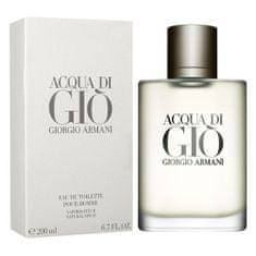 Giorgio Armani Toaletní voda , Acqua Di Gio pour Homme, 200 ml