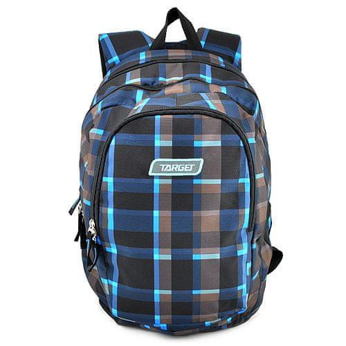 Target Ciljni nahrbtnik za učence, Sivo-modro-črna