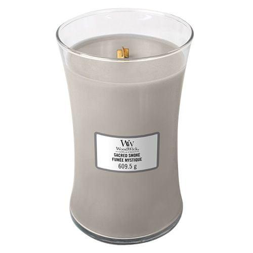 Woodwick Svíčka oválná váza WoodWick, Mystický kouř, 609.5 g