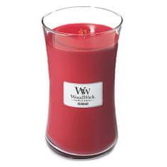 Woodwick Świeca owalny wazon , Porzeczka 609,5 g