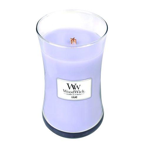Woodwick Svíčka oválná váza WoodWick, Šeřík, 609.5 g