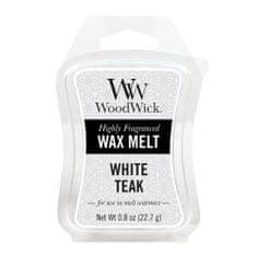 Woodwick Vonný vosk , Bílý teak, 22.7 g
