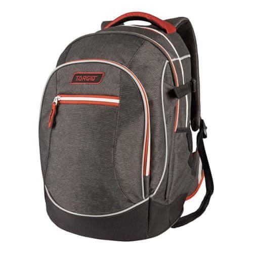 Target Ciljni nahrbtnik za učence, Temno siva