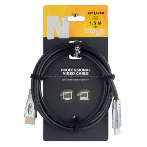 Stagg Prepojovací kábel , NVC1,5HAM