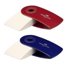 Faber-Castell Stieracia guma , Sleeve Mini, 2 druhy - červená/modrá