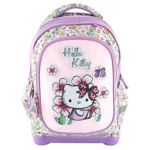 Hello Kitty Ciljni nahrbtnik šole, , belo-vijolična