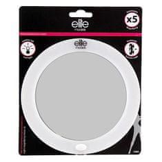 Elite Models Zrcadlo s LED osvětlením , s přísavkami, průměr 16cm