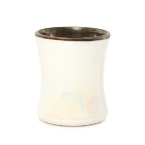 Woodwick Svíčka keramická oválná váza WoodWick, Kouřový jasmín, 133.2 g