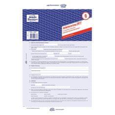 Avery Zweckform Pracovní smlouva DE , 2877, komerční, A4, 3 stranná