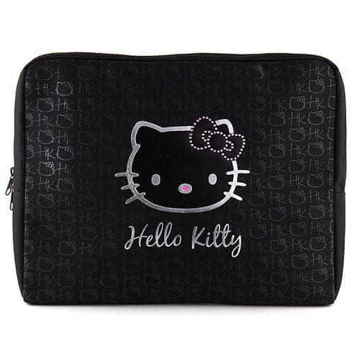 "Hello Kitty Pouzdro na laptop 15,4"" , černé"