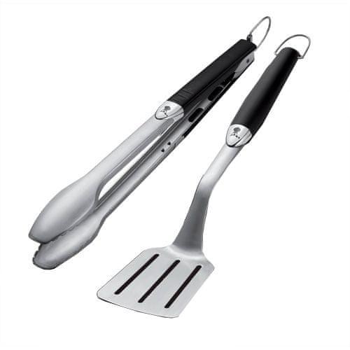 Weber Grilovací náčiní Premium , 2-dílné, dlouhé, nerezová ocel